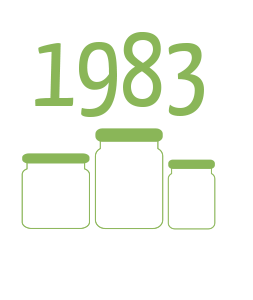 1983 - Oil-preserved and rice-salad vegetables: new products