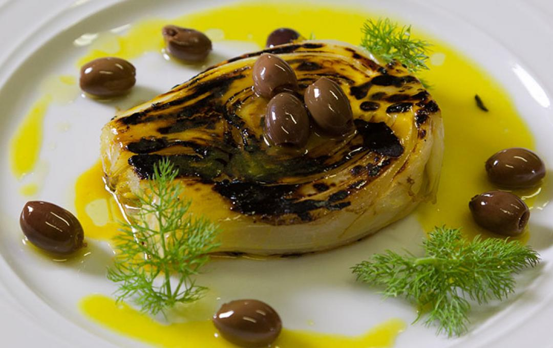 FENNEL, OLIVE AND ORANGE SAUCE SALAD - Daniele Zennaro per Valbona